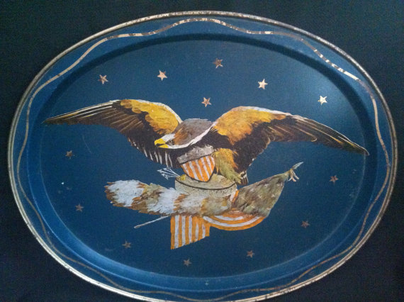 American Eagle Tray